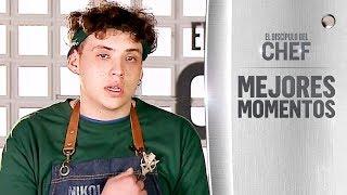 Niko Karoussis se emocionó por su abuela - El Discípulo del Chef