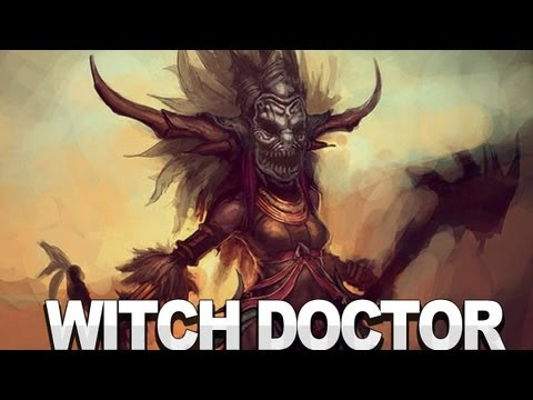 Diablo III – Witch Doctor Spotlight Video