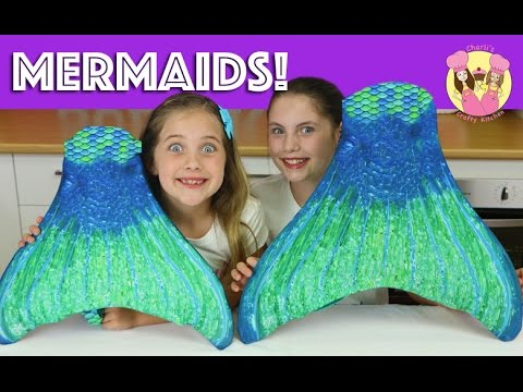 FIN FUN MERMAID HAUL! We turn into the little mermaid & swim in our pool - kid toy review