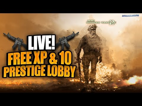 (PS3) MW2 Free XP and 10 PRESTIGE LOBBY! #ROADTO6,3k
