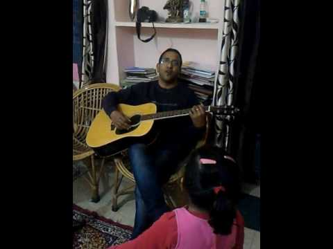 Sun mere humsafar, guitar acoustic, with my daughter millie.