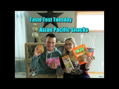 Taste Test Tuesday -Asian Pacific Food