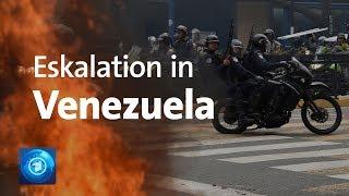 Krise in Venezuela spitzt sich zu