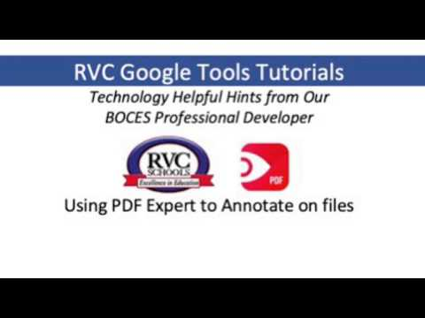 PDF Expert Tutorial
