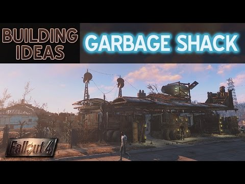 Settlement building ideas garbage shack fallout 4 for Fallout 4 bedroom ideas