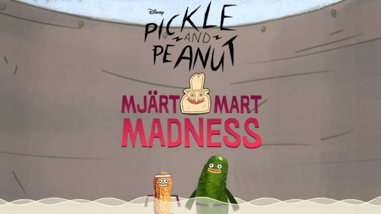 Pickle and Peanut: Mjart Mart Madness