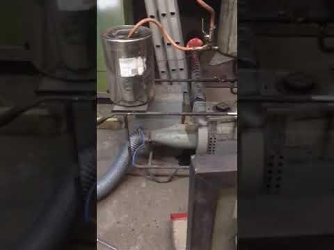 Wood gasifier short clip
