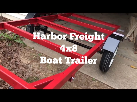 Harbor Freight Boat Trailer Upgrades Adding A Winch