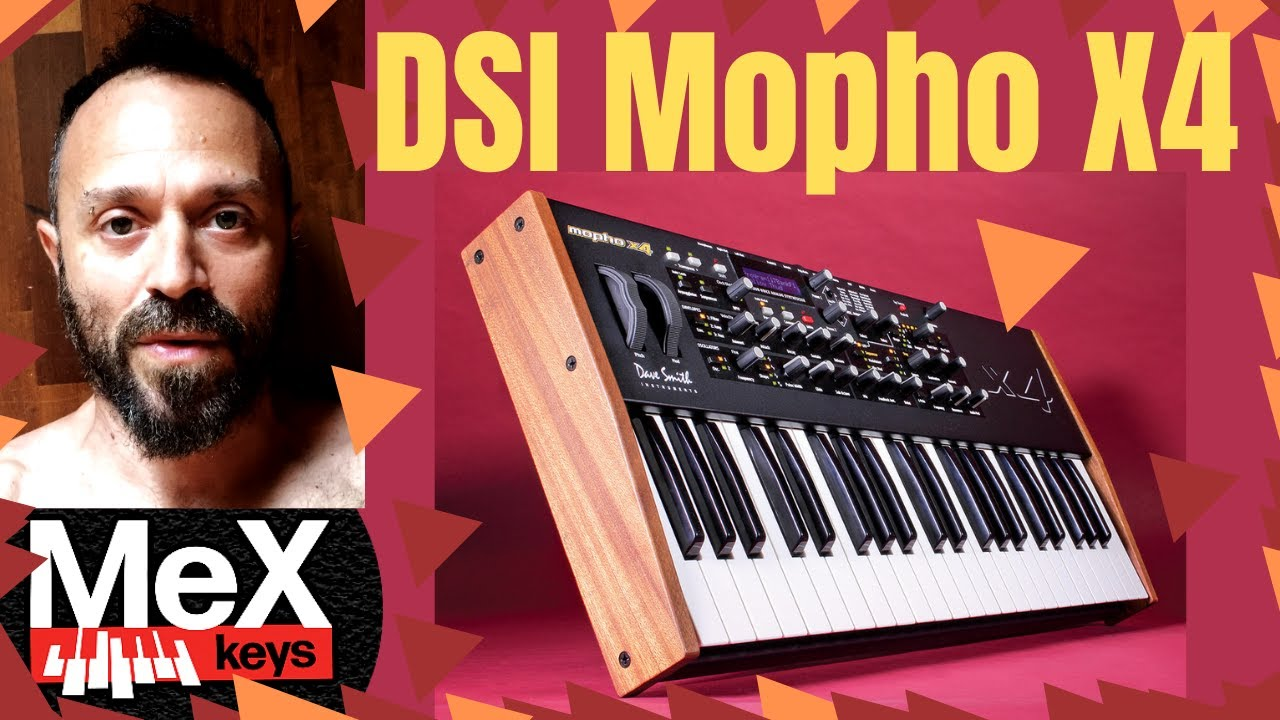 DSI Mopho X4 by MeX (Subtitles)