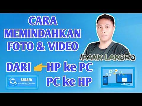 Cara Transfer Data Dari HP Ke Laptop atau Komputer TANPA KABEL!!!.
