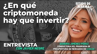 Image del Video: Entrevista a Sandra Jiménez: ¿En qué criptomonedas hay que invertir?