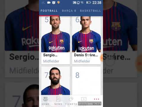 Are you a Barcelona fan?This app is for you