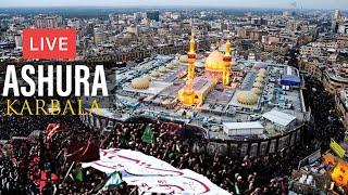 LIVE 🔴 ASHURA From Karbala 10 Muharram  1441 Hijri / 2019