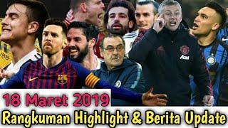 Hattrick Messi vs Real Betis | MU & Juve Kalah | Liverpool Menang |  Debut Zidane | Highlight 2019