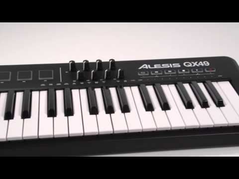 Getting Started with Alesis QX Series MIDI/USB Keyboard Controllers