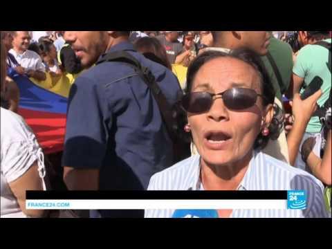 Venezuela Health Worker Protest - February 2017