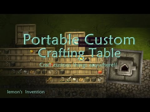 Minecraft Testforblock Custom Crafting