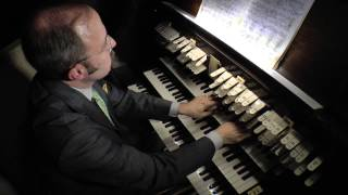 Organist Mark Dwyer plays Widor Symphonie No. 6 Final on the pipe organ at Our Lady of Refuge