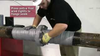 How to Apply Trenton Wax-Tape® Anticorrosion Wrap on a Flange