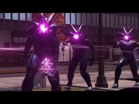 Spider Man Web Of Shadows Electro Symbiote