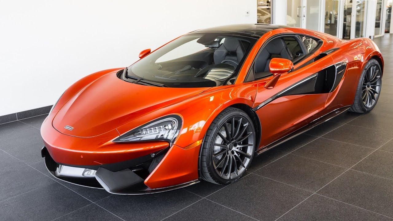 """2017 """"Volcano Orange"""" McLaren 570GT"""