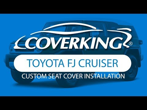 How to Install 2013-2014 Toyota FJ Cruiser Custom Seat Covers | COVERKING®