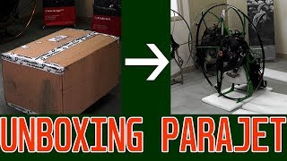 Parajet Zenith Paramotor - Unbox and Build