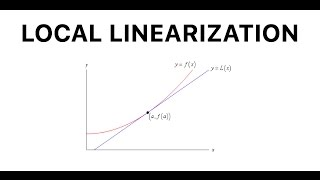 Local Linearization - Tangent Line Approximation of Lines and Trig Functions
