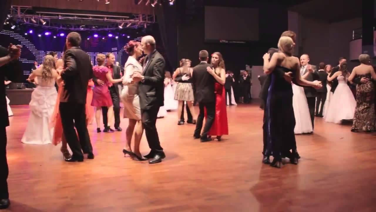 Slavnostní první bílá prodloužená - sestřih 2014 - Taneční škola Dynamic -  YouTube b36033606a
