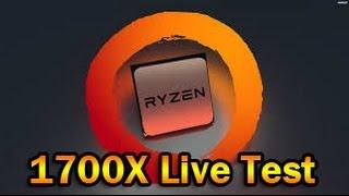 Ryzen Test Stream | R7 1700X | H1Z1 Gameplay