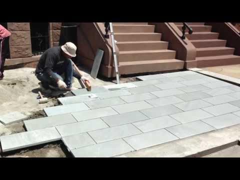 Blue-stone Installation- Innovation Construction