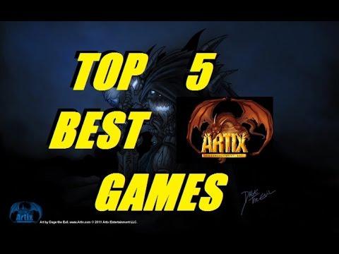 AQ3D Top 5 Best AE GAMES! AdventureQuest 3D