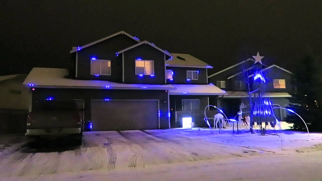 AMAZING Let It Go (Frozen) Christmas Lights in ALASKA! - YouTube