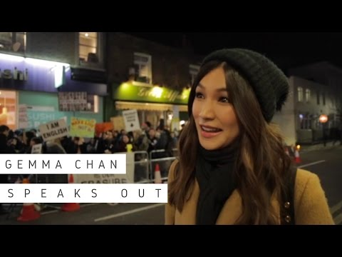 Gemma Chan speaks out about 'yellowface' casting at the Print Room Theatre