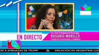 Comunicación con la Vicepresidenta Compañera Rosario Murillo, 18 de Octubre de 2018