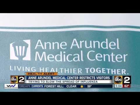 Anne Arundel Medical Center limits hospital visits to stop the spread of the flu
