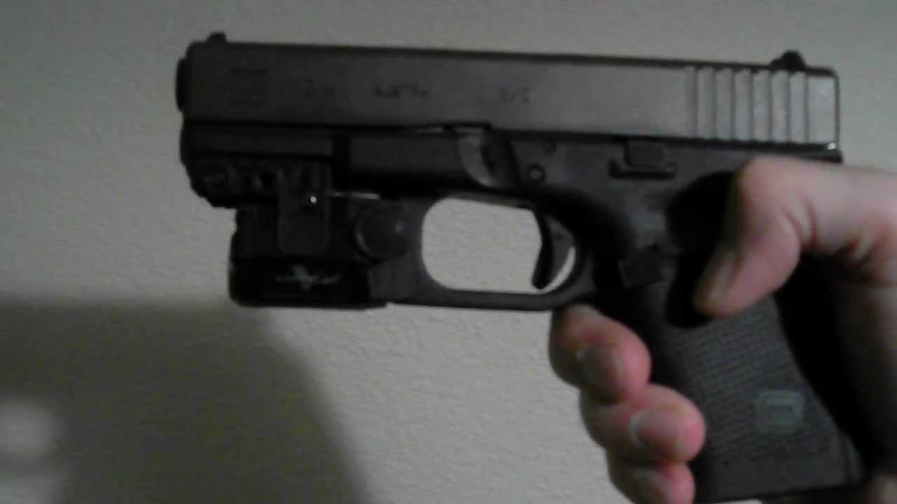 Marvelous Glock 19 Gen 4 With Viridian Green Laser   ECR   YouTube Amazing Ideas