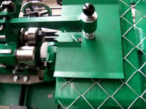 chain link fencing machine NOVA-S 4HR-420 CNC