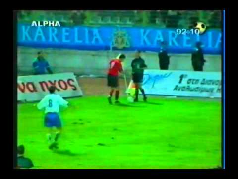Thumbnail: 2000 (October 11) Albania 2-Greece 0 (World Cup Qualifier).avi