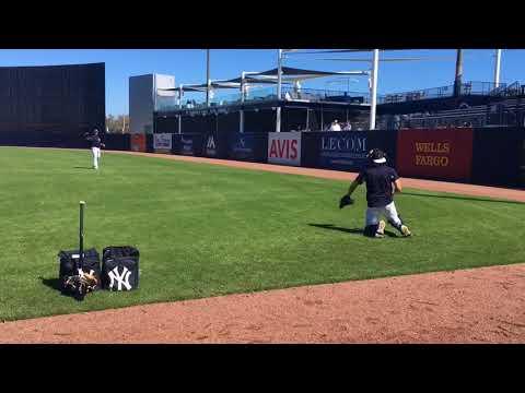 Yankees prospects Chance Adams, Justus Sheffield throw