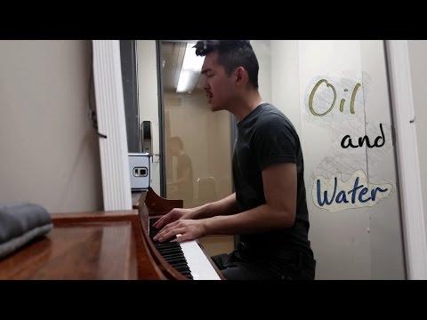 Oil and Water (LIGHTS cover) - Mj Winn