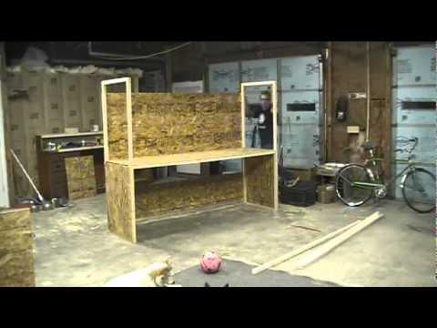 Wood Storage Workshop Garage