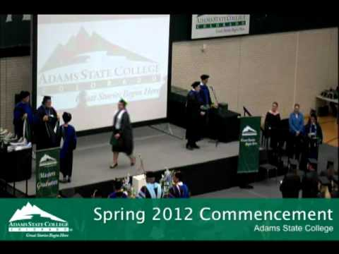 Master of Arts Commencement Spring 2012