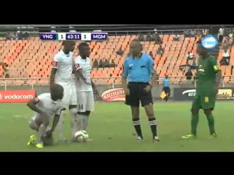 Ligi Kuu Ya Tanzania/Yanga Sport CLub Vs Mgambo Footbal Club