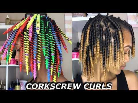 SPIRAL RODS FOR THE PERFECT CORKSCREW CURLS