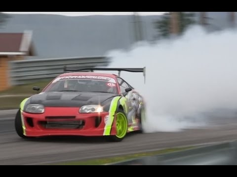 2015 Toyota Supra >> MAD Supra 2JZ Driftmonkey drifting ! - YouTube