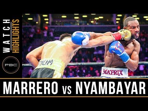 Marrero vs Nyambayar HIGHLIGHTS: January 26, 2019 - PBC on FOX
