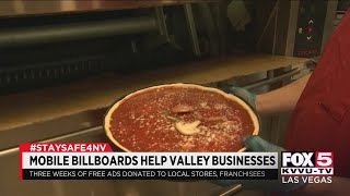 Mobile billboard company helps small businesses in Las Vegas
