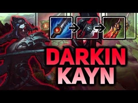 DARKIN KAYN NEW CHAMPION GAMEPLAY! THIS IS ABSOLUTELY INSANE!! - PBE