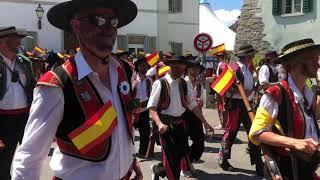 Lenzburger Jugendfest Freischarenmanüver 2018 - Spanier